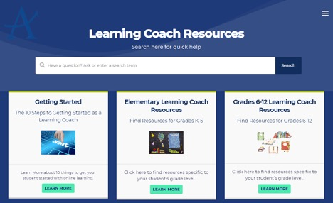 Learning Coach Resources